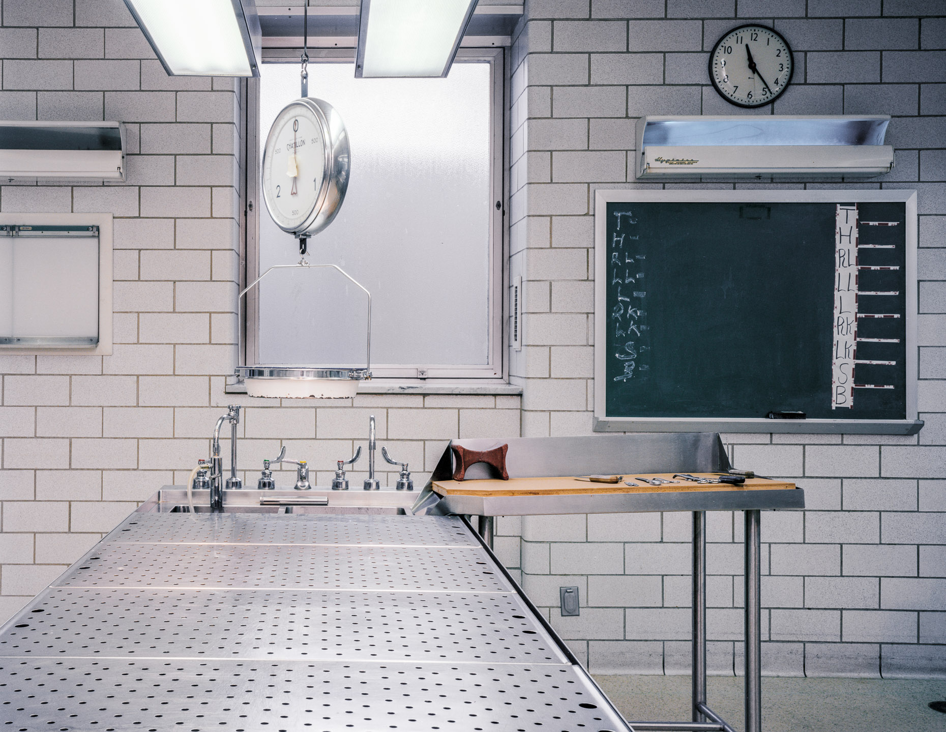 Dissection Table, NYC Morgue